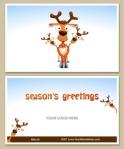 curious reindeer